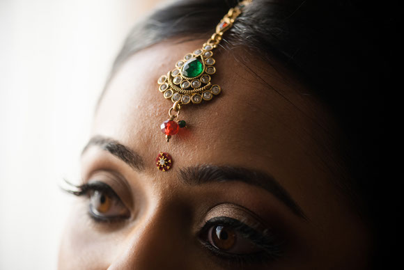 Indian Bride and Groom photographed in Dalton, GA by Dotson Studios.